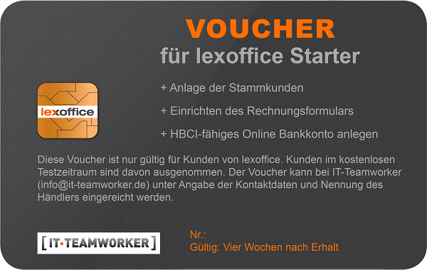 Lexoffice Voucher